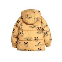 Mini Rodini Mozart panda puffer jacket