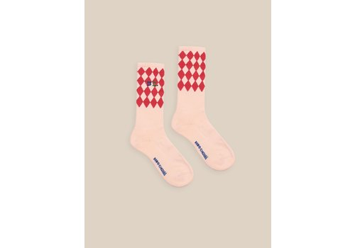Bobo Choses Bobo Choses Diamonds Long Socks