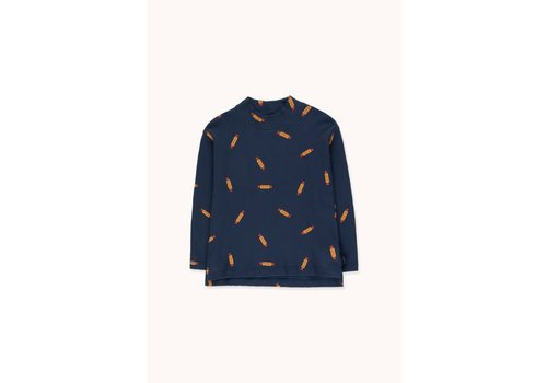 TINYCOTTONS Tinycottons_AW20-087_Mockneck Peanuts TEE