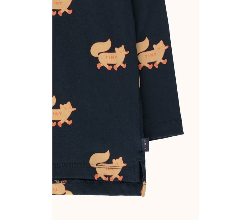 Tinycottons_AW20-001_Foxes TEE