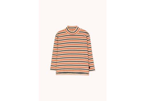 TINYCOTTONS Tinycottons_AW20-071_Mockneck Stripes TEE