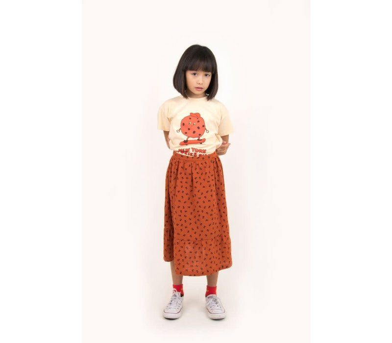 """Tinycottons_AW20-171_""""TINY FLOWERS"""" Long Skirt"""