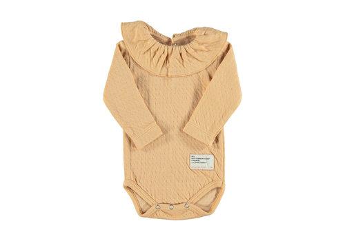 PIUPIUCHICK Piupiuchick Baby longsleeve body Caramel