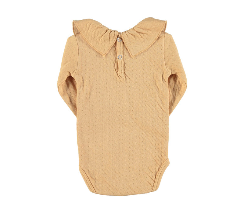 Piupiuchick Baby longsleeve body Caramel