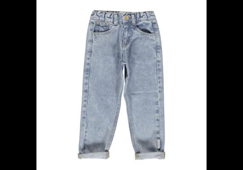 PIUPIUCHICK Piupiuchick Mom fit trousers | Washed light