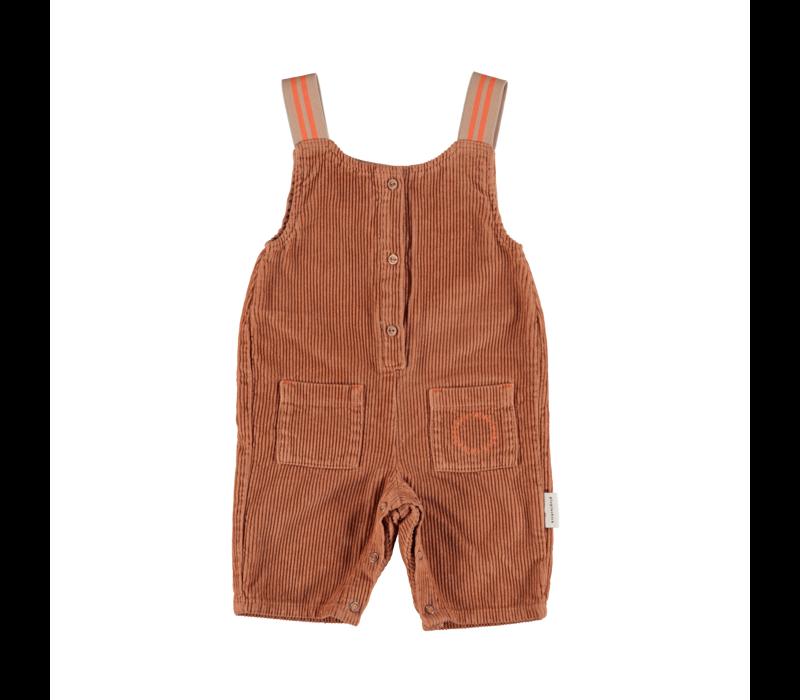 Piupiuchick Baby Jumpsuit Caramel