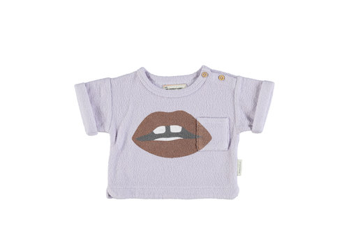 PIUPIUCHICK Piupiuchick Terry t-shirt | Lavender