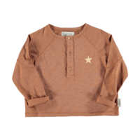 Piupiuchick Buttoned longsleeve | Pecan nut