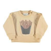 Piupiuchick Sweatshirt | Caramel w/print
