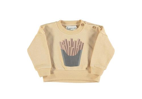 PIUPIUCHICK Piupiuchick Sweatshirt | Caramel w/print