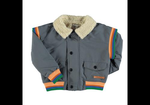 PIUPIUCHICK Piupiuchick Waterproof Jacket| Grey