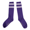 PIUPIUCHICK Piupiuchick Socks | Purple w/ lavender stripes