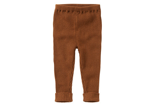 Mingo Mingo Knit Baby Pants Pecan