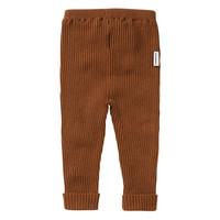 Mingo Knit Baby Pants Pecan