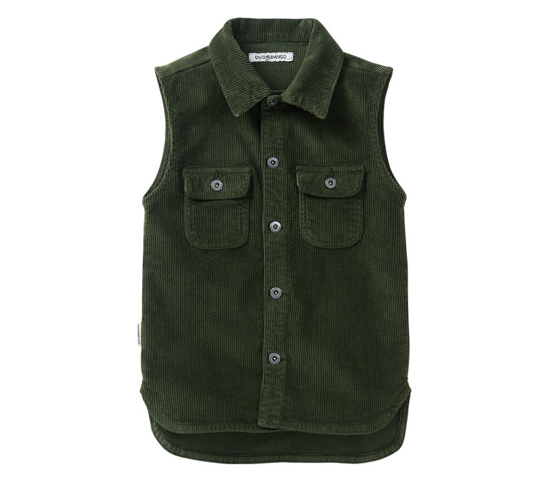 Mingo Sleeveless Shirt Forestnight