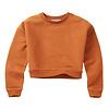 Mingo Mingo Cropped Sweater Dark Ginger