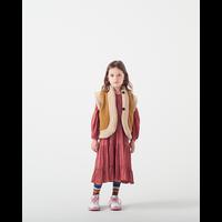 Wander & Wonder Reversible Vest Mustart