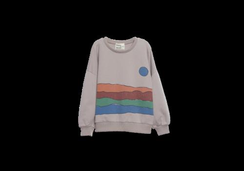 Wander & Wonder Wander & Wonder Desert Print Sweatshirt Grey