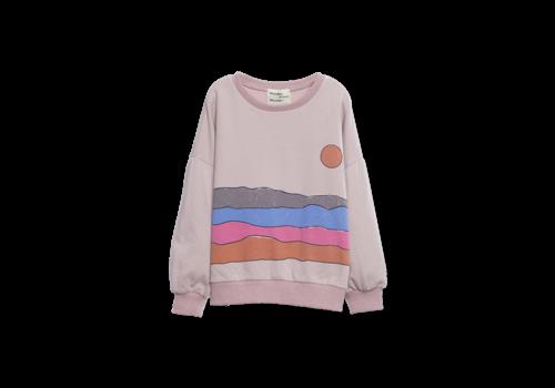 Wander & Wonder Wander & Wonder Desert Print Sweatshirt Mauve