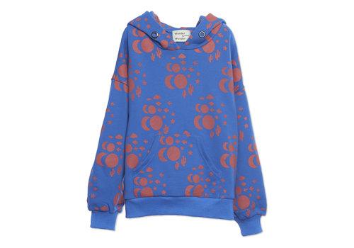 Wander & Wonder Wander & Wonder Hoodie Sweatshirt Blue Cosmic