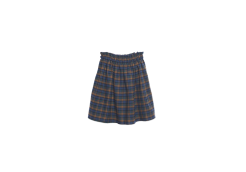 Wander & Wonder Wander & Wonder Gathered Skirt mist plaid