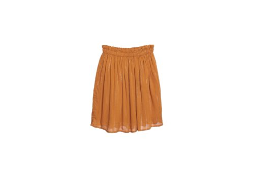Wander & Wonder Wander & Wonder Gathered Skirt Turmeric Lurex