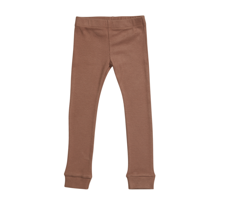 Blossom Kids Legging rib Smoked Hazelnut
