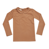 Blossom Kids Peterpan Long sleeve Caramel Fudge