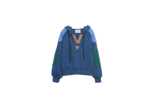 Wander & Wonder Wander & Wonder Hoodie Sweatshirt Blue / INK