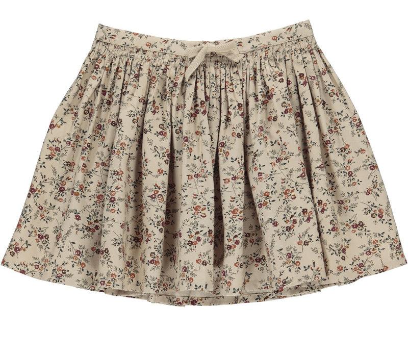 MarMar Copenhagen_Sille- Crispy Viscose Twill Skirt_Climbing rose