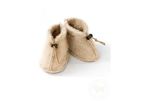 Alwero Alwero Babysloffen Emo Wool Beige