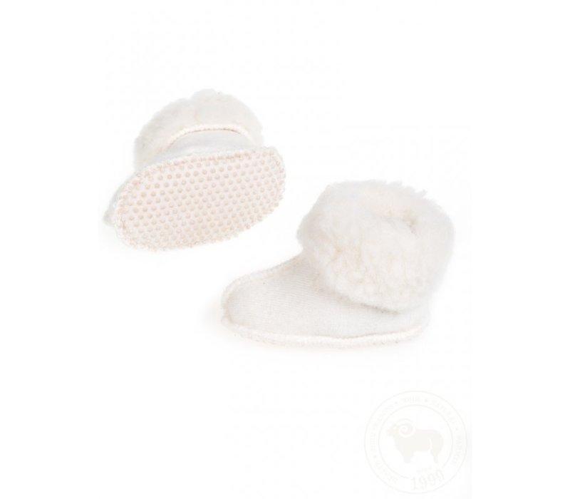 Alwero Babysloffen Melo Wool Beige