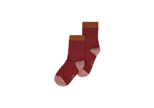 Soft Gallery MP Denmark & Soft Gallery Socks Red Okker