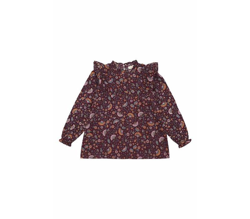 Soft Gallery Gaxine Shirt Port Royale AOP Flower