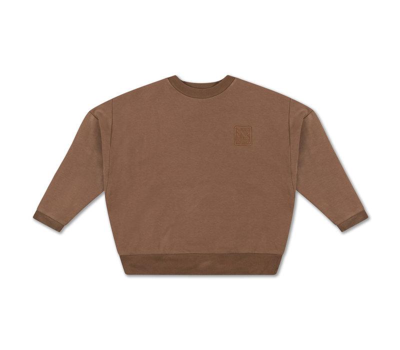 Repose AMS 12. Crewneck Sweater Brown