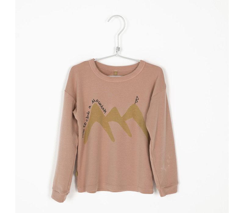 Lotiekids Rib Tshirt _ How to Climb_Warm Pink