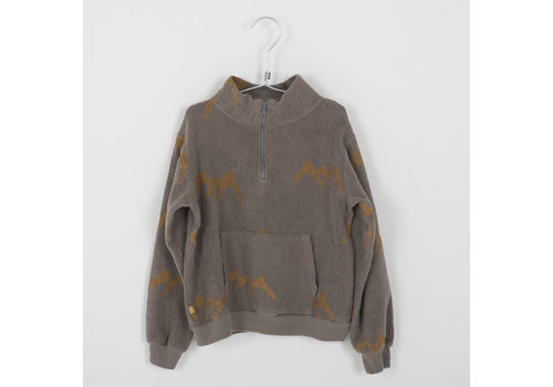 Lötiekids Lotiekids Sweatshirt _ Mountains_Washed Taupe