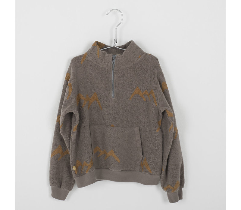 Lotiekids Sweatshirt _ Mountains_Washed Taupe