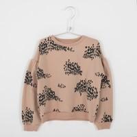Lotiekids Sweatshirt _ Forest_Warm Pink