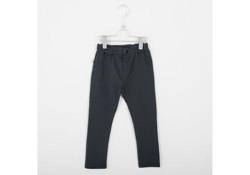 Lötiekids Lotiekids 5 Pockets Trousers _ Solid_Vintage Black