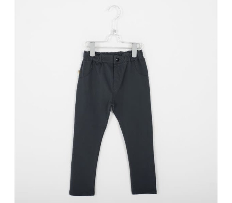 Lotiekids 5 Pockets Trousers _ Solid_Vintage Black
