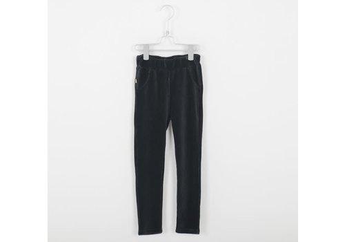 Lötiekids Lotiekids Jegging Corduroy Trousers _Solid_Vintage Black