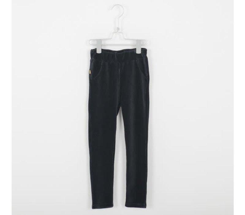 Lotiekids Jegging Corduroy Trousers _Solid_Vintage Black