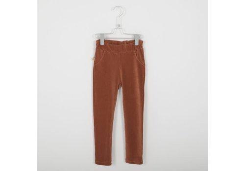 Lötiekids Lotiekids Jegging Corduroy Trousers _Solid_Tile