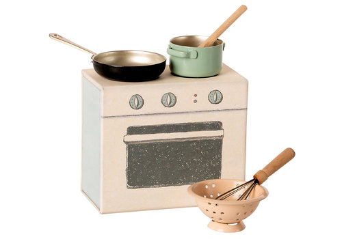 Maileg Maileg House of miniature Cooking set