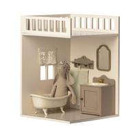 Maileg House of miniature bathtub