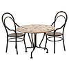 Maileg Maileg Dining table set w. 2 Chairs