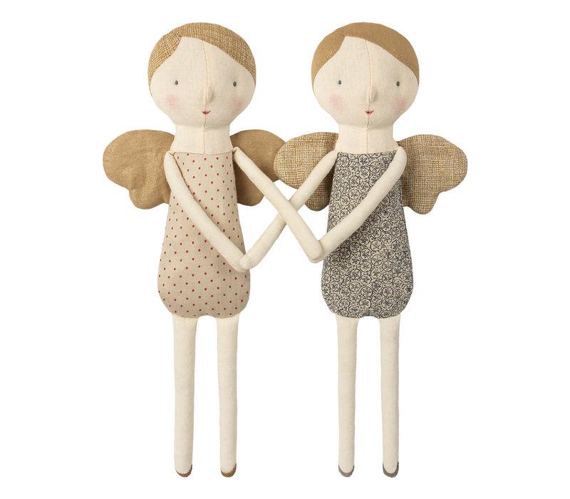 Maileg Winter Friends Angel - red