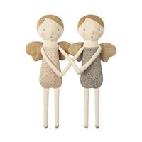 Maileg Winter Friends Angel - blue