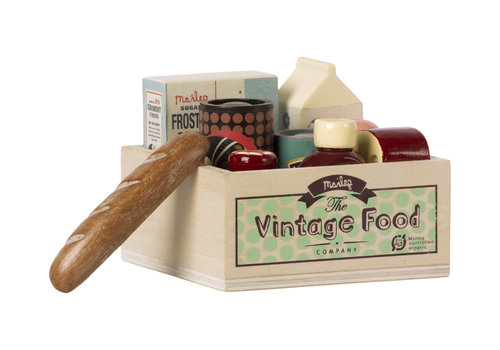 Maileg Maileg House of miniature Vintage food _ Grocery box